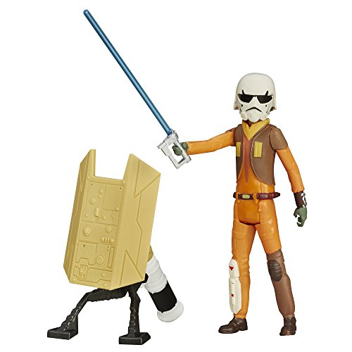 Ezra Bridger with Build a Weapon Part - Star Wars Rebels /The Force Awakens Collection von Hasbro / Disney