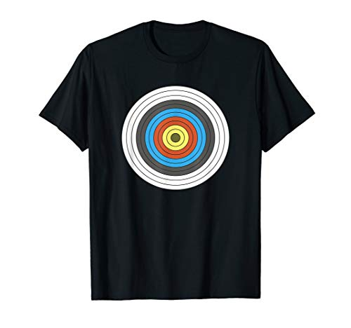 Bogenschießen Shirt | Body Target Zielscheibe T Shirt Geschenk