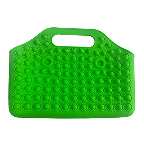 passer Big Pop Fidget Juguetes bolsa de mano, bolsas de mano para aliviar el estrés, empuje de burbujas Popper sensorial, Fidget para mujer, juguetes sensoriales, regalo de cumpleaños para mujeres