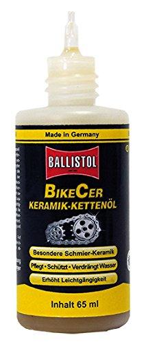 Ballistol Erwachsene Ölpipe BikeCer, Transparent, 65 ml