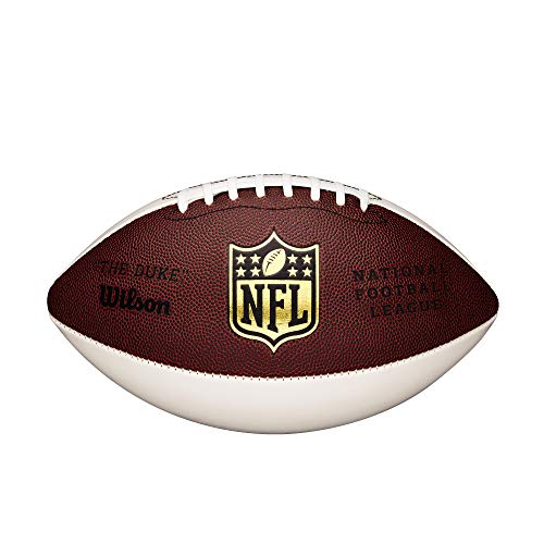 Wilson NFL Autograph Football, Brown/White by Wilson