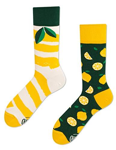 Many Mornings unisex Socken The Lemons (39/42)