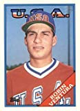 1988 Topps Traded Baseball #124T Robin Ventura Rookie Card. rookie card picture