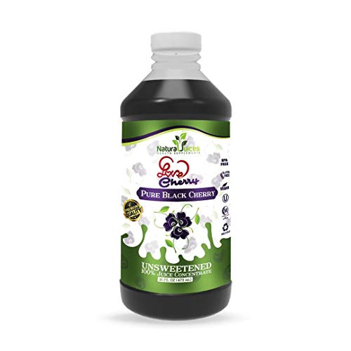 Natural Juices Love Black Cherry Concentrate 473 ml
