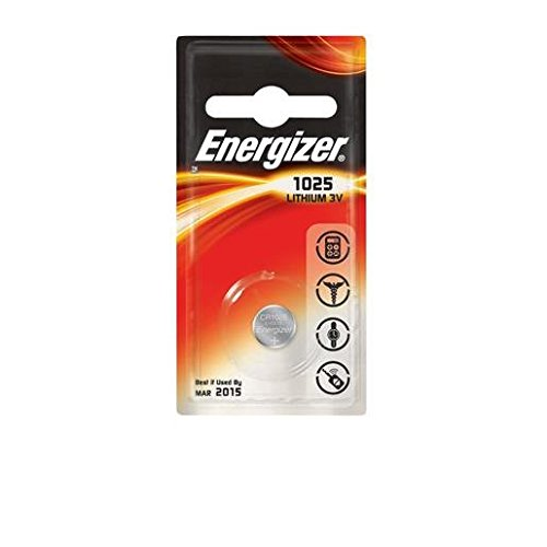 ENERGIZER Lot de 6 Blisters de 1 Pile Lithium CR 1025