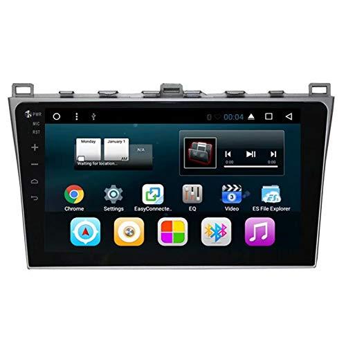 TOPNAVI 10.1Inch Android 7.1 Vidéo de Voiture pour Mazda Core-Wing 2010 2011 2012 2013 2014 Voiture GPS Navigation Radio Stéréo avec 16 Go de ROM Quad Core WiFi 3G RDS Lien de Liaison FM AM