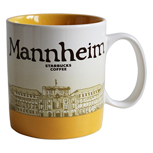 Starbucks City Mug Mannheim Coffee Cup Pott Koffie Icon Serie Germany Mok