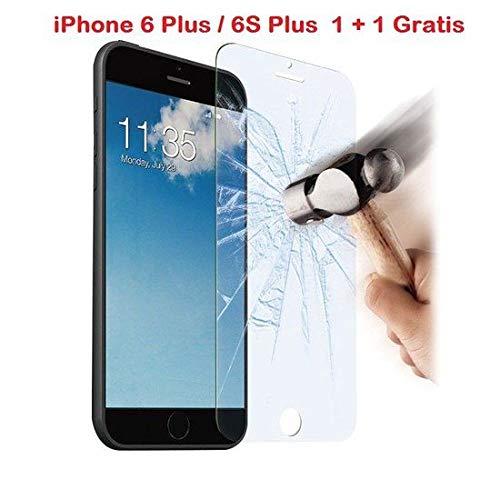 iPhone 6 Plus / 6S Plus 1 + 1 GRATIS Glazen tempered glass/Screenprotector