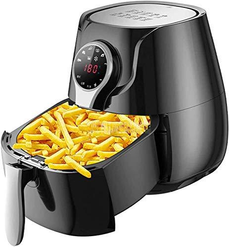 Controles de pantalla táctil Sartén de aire eléctrica Olla Freidora Horno Estufa Sin aceite Máquina para hacer papas fritas