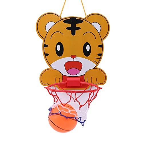PDVCB Mini Juego de Baloncesto de bebé Marco de Baloncesto Colgante Baloncesto portátil Baloncesto Juego Juego (Color : A)