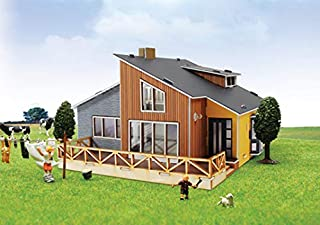 Young Modeler Desktop Wooden Model Kit 30 Pyeong Class Country House