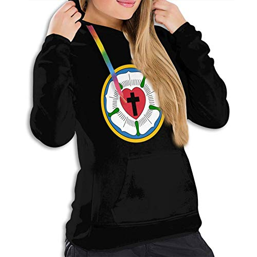Luther Rose Martin Luther - Sudadera con capucha para mujer, diseño luterano