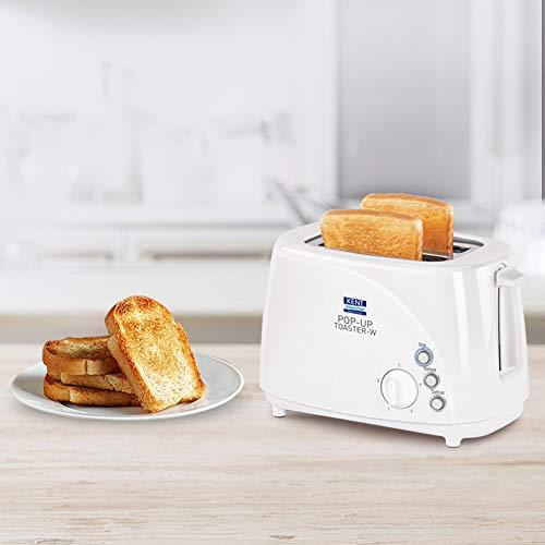 KENT - 16031 850-Watt 2-Slice Pop-up Toaster (White)