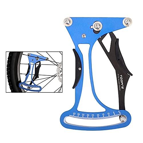 Medidor De TensióN Para Radios De Bicicleta Herramientas de calibración de portavoce de bicicletas aleación de aluminio MTB Ruedas de bicicleta por carretera radios de tensiómetro medidor de ciclismo