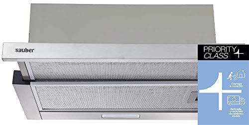 Sauber - Campana Telescópica SCTC60B - Ancho 60 cm - Blanca