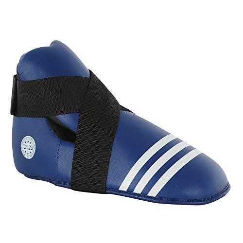adidas Unisex– Erwachsene WAKO Super Safety Kicks Fußschützer, blau, S