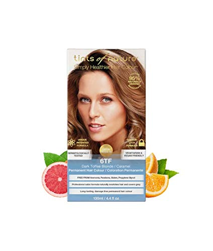 Tints of Nature 6TF Dark Toffee Blonde Permanent Hair Dye, Single
