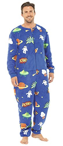 Herren Erwachsenenstrampler,Ganzkörper Schlafanzug für Erwachsene, Schlafoverall, Onesie, Jumpsuit, Hausanzug,Pyjama Overall