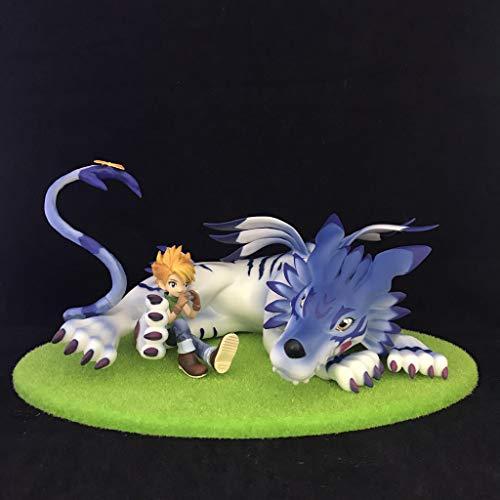 Digimon Garuru Mano Animal Modelo Anime/Souvenir/colección/artesanía