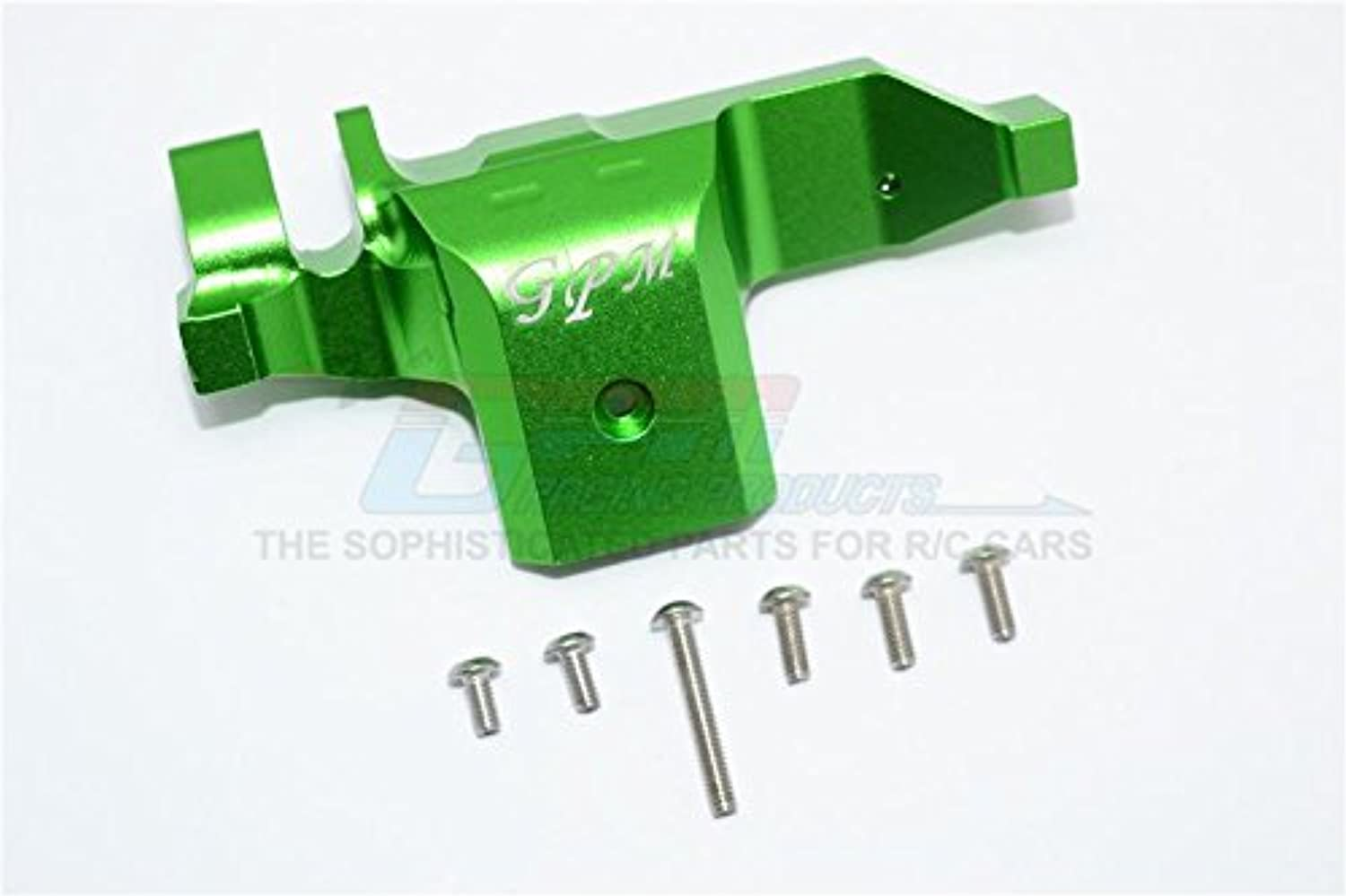Traxxas TRX-4 Trail Defender Crawler Upgrade Parts Aluminum Transmission Lower Spur Gear Case Cover - 1Pc Set Green