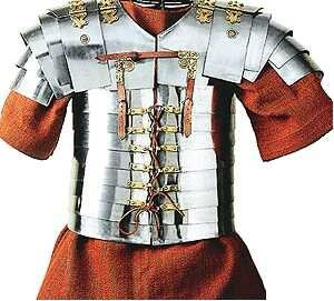 Nautical Replica Hub Disfraz de guerrero medieval funcional de la armadura romana medieval guerrero de acero romano militar segmentata