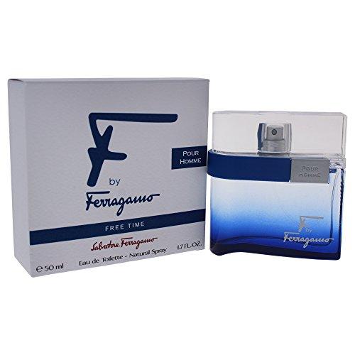 Salvatore Ferragamo F Free Time Eau De Toilette Spray, 1.7 Ounce