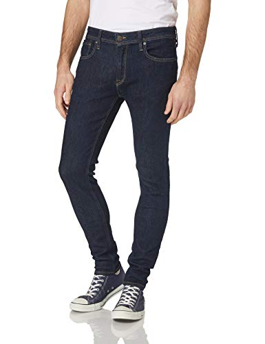 Jack & Jones JJILIAM Jjoriginal AGI 074 Jeans, Azul Denim, 29W x 32L para Hombre