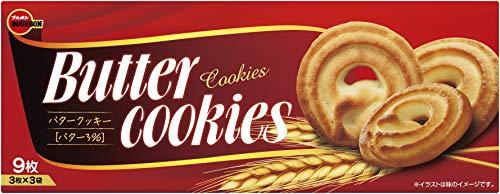 ブルボン バタークッキー 9枚×12箱