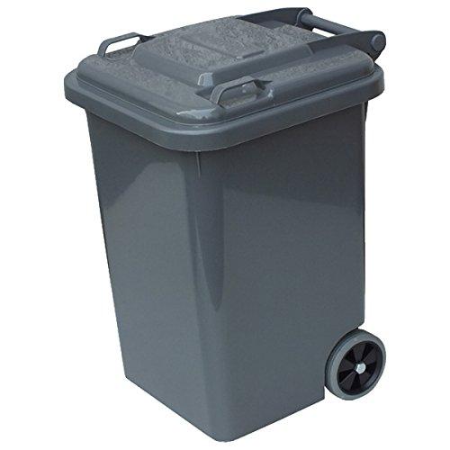 ダルトン プラスチックトラッシュカン 45L グレーPlastic trash can 45L 100-146 gray