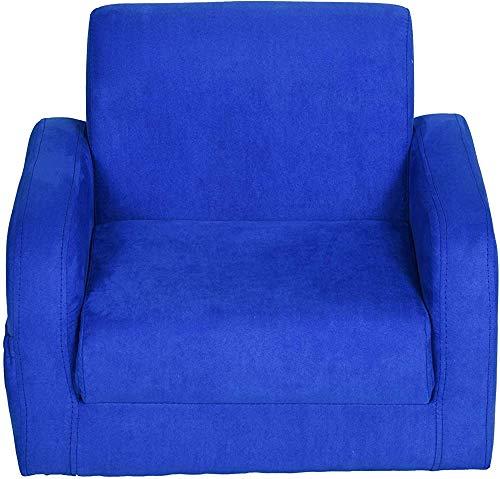 Con estilo y elegante sala de estar dormitorio muebles de la sala 2-en-1 Niños sofá-cama-nido sofá suave,Blue