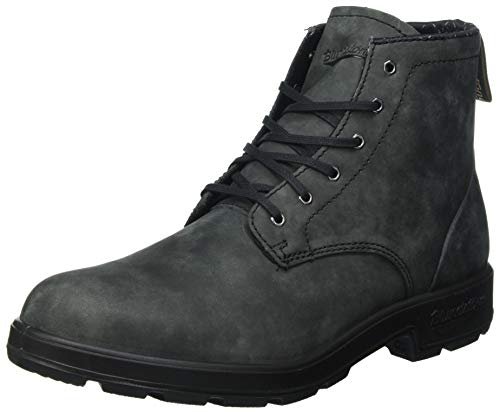 Blundstone Men's Lace Up Leather Boot Style 1931 - Rustic Black - 10.5