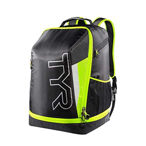 TYR Apex: Mochila bolsa de triatlón  Unisex   Negro Amarillo
