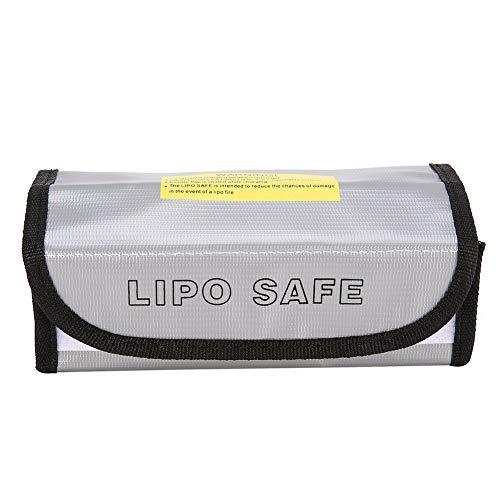 KAR LiPo Feuerbeständige Explosionsgeschützte Sicherheitstasche für Lithium-Batterie DJI Mavic DJ Phantom 3 Battery Guard Laden und Lagerung Sicherer Beutel (185 * 75 * 60 mm)