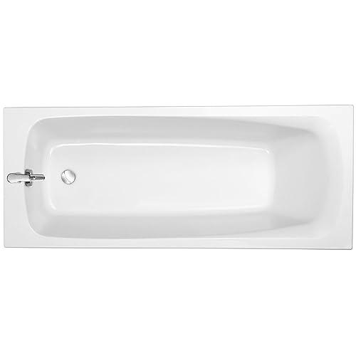 Jacob Delafon E60532-00 Stil up Baignoire rectangulaire en Acrylique, Blanc, 170 x 70 cm