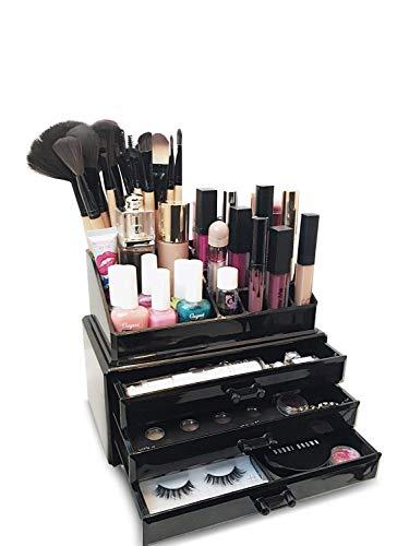 Oi Labels™ Acrílico Negro Maquillaje/Cosmético/Joyería/Esmalte