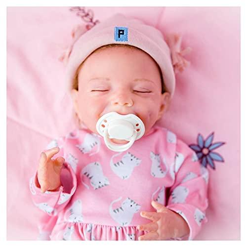 DLLzq MuñEcas Reborn, 18 Pulgadas Bebe Reborn NiñO - Sin PVC MuñEca ReciéN Nacida, Kids Toys Cute Girl Boy