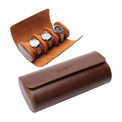 Caja de viaje para reloj – Caja de relojes de cuero hecha...
