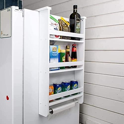 Estante De La Cocina De Los Estantes De Los Cubiertos, Storag De La Cocinae Rack Spices Cooker Wall Shelf Refrigerator Side, 2 Capas 41.5 * 48Cm, 3 Capas 41.5 * 72Cm (Tamaño: 2 Capas)