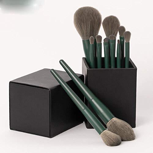 Ensemble De Pinceaux De Maquillage Outil De Maquillage Pinceau Fard À Joues Pinceau Fard À Paupières Pinceau Fondation Pinceau En Poudre Libre, 11 Pinceaux Z