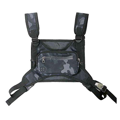 Camouflage Chest Front Bag Pouch for Men...