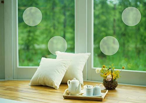 H421ld Juego de 10 adhesivos para ventanas de vinilo de cristal esmerilado, con elementos decorativos únicos, protege la ventana de los niños, mascotas personalizadas
