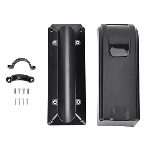 Jadeshay Caja del Controlador-Plástico Bicicleta Negra Bicicletas eléctricas Caja del Controlador Bolsa...