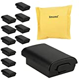 Xmomx 10 x Battery cases for Xbox 360 wireless controller Black