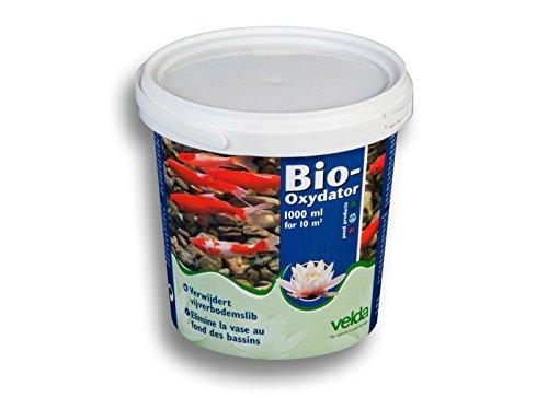 Wiltec Velda Bio Oxydator 1000ml Teichbodenschlamm Entfernung 50qm Bakterien Klärung Teichschlamm