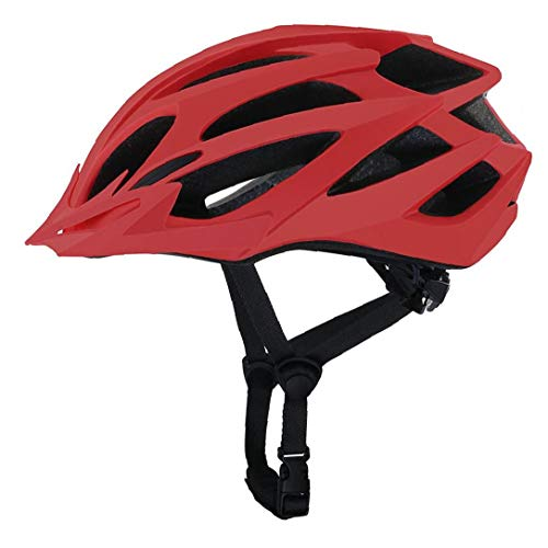 ZYCX123 Reiten Fahrradhelm Außen Leichter High Strength-Fahrrad-Gebirgs Helm für Männer Frauen Rot
