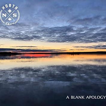 A Blank Apology