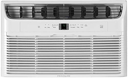 "Frigidaire FFTA103WA1 24"" Energy Star Through The Wall Air Conditioner with 10000 BTU Cooling Capacity, 115 Volts, 3 Fan Speeds, Remote Control, Programmable Timer and Auto Restart in White"
