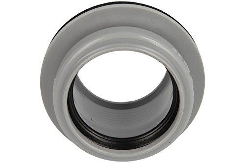 Unbekannt–Anschraubmuffe DN 50, grau für die Reinigung der Abdeckung, Bohrung ø 59mm