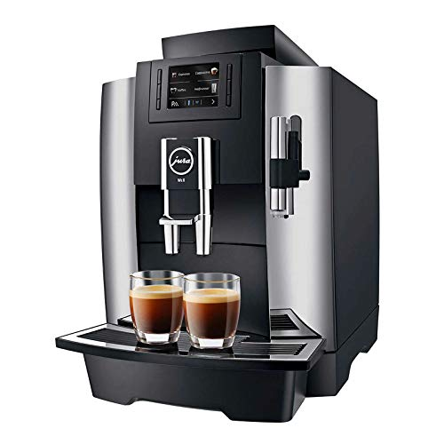 Jura WE8 Cafetera automática, 1450 W, Stainless Steel, Cromo/Negro