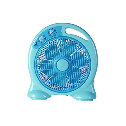 YOUCHOU Ventilador eléctrico, Esquina Cuadrada, Ventilador de página, Dormitorio de Estudiantes, Ventilador...